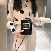 HOT transparent sac femmes acrylique femmes décontracté noir bouteille sacs à main portefeuille Paris fête toilette mariage embrayage soirée sacs