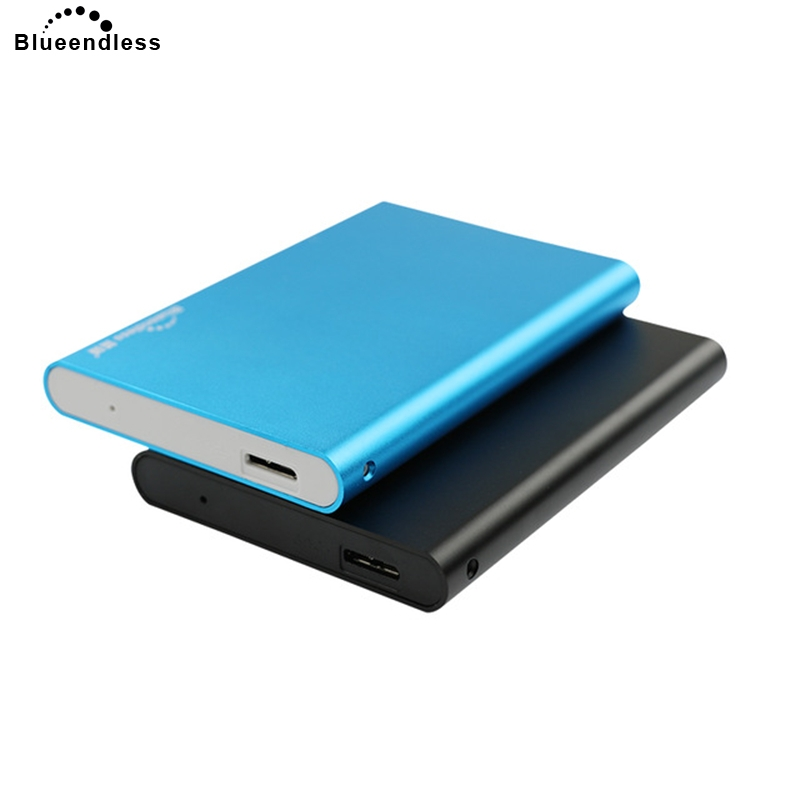 Blueendless Cheap External Enclosure HDD Usb Case 2.5' Sata Usb Portable Hard Drive Caddy HDD Enclosure Under$6 For Windows&30
