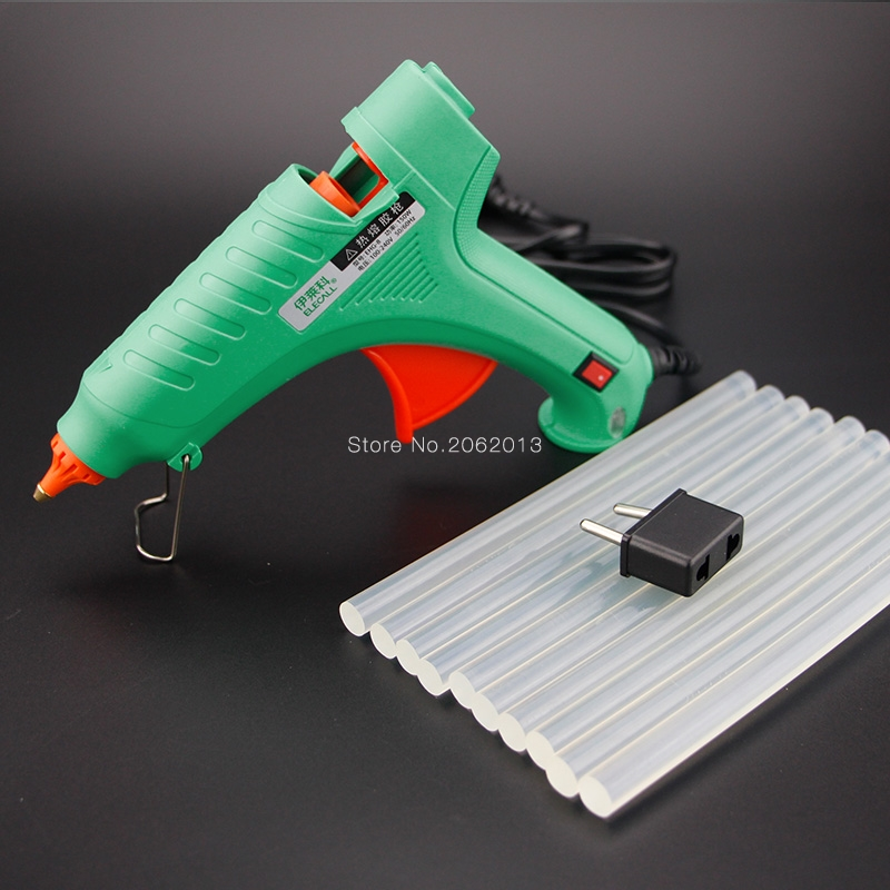 Free Shipping 40W AC100-240V Electric Heating Hot Melt Glue Gun Crafts Repair Tool Professional DIY EHG-8