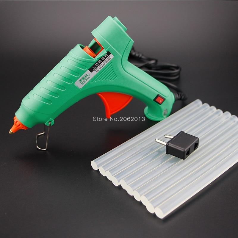 Free Shipping 40W AC100-240V Electric Heating Hot Melt Glue Gun Crafts Repair Tool Professional DIY EHG-8