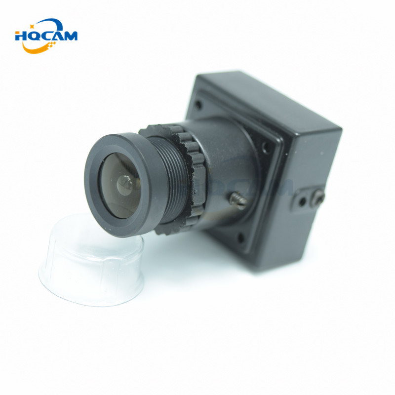 HQCAM Sony 1/3 CCD 480TVL Black and white image Analog Camera 405AL Black and white camera Mini B/W Camera Industrial camera micro camera compact telephoto camera bag black olive