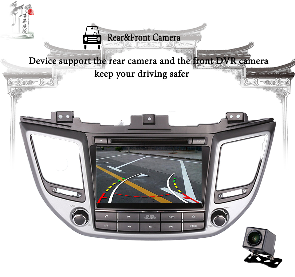 Sale 4G+64G Octa core android 9.0 car dvd for Hyundai Tucson/IX35 2016 2017 2018 multimedia car radio gps navigation Tape Recorder 14