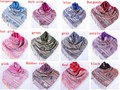 Free Shipping Women's Acrylic Knited Pashmina Air Conditioning Cape All Match Solid Color Shawl 12 Colors 190*70cm   6124