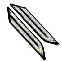 33 LEDs Car Styling Car DRL Daytime Running Lights Waterproof Car Daytime LED Light DC 12V
