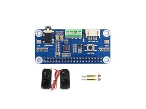 Image 2 - Звуковая шляпа Waveshare WM8960 Hi Fi, «карта» для Raspberry Pi Zero/Zero W/Zero WH/2B/3B/3B +, стереозвук, запись/запись