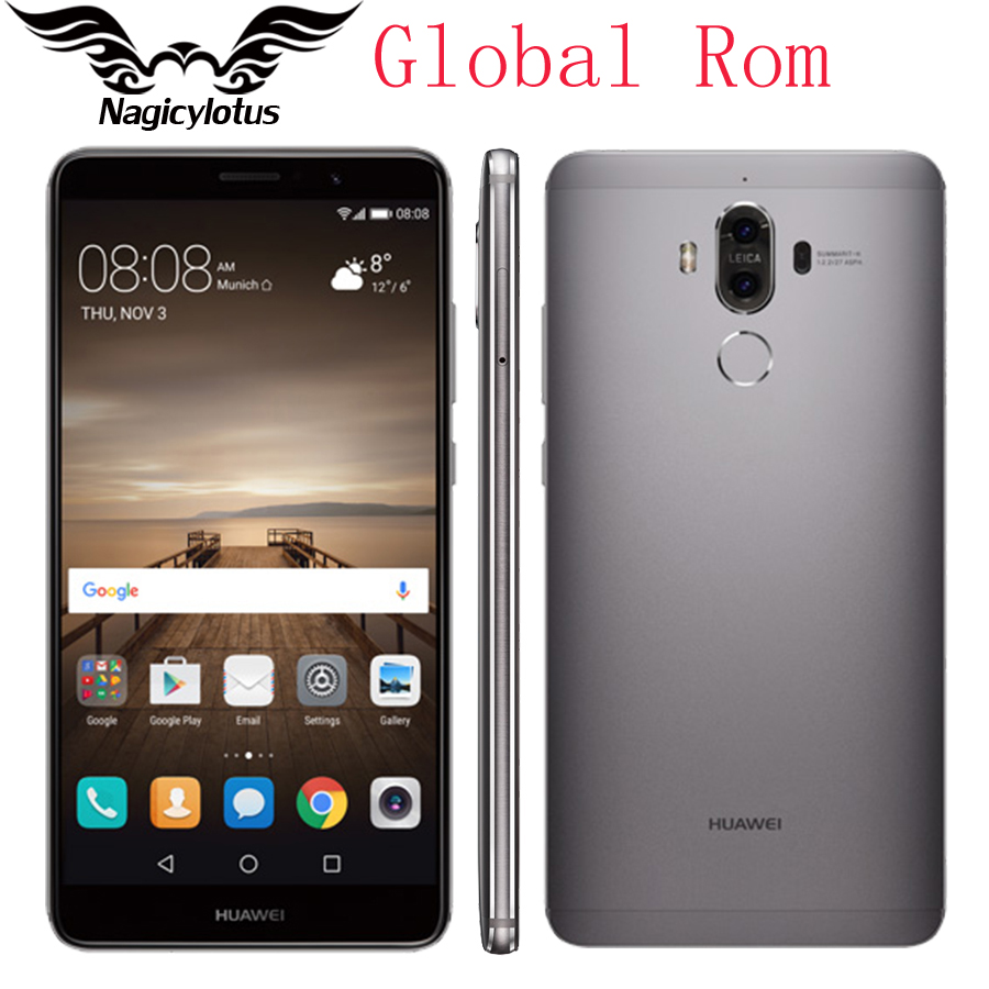 global rom huawei mate 9 mobile phone 4g lte octa core 4gb ram 32gb rom 5 9 android 7 0. Black Bedroom Furniture Sets. Home Design Ideas