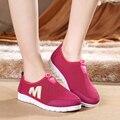 Est calidad Moda unisex zapatos ocasionales del acoplamiento zapatillas Zapatos súper ligero eva suela Resbalón-En zapatos mocasines transpirable verano