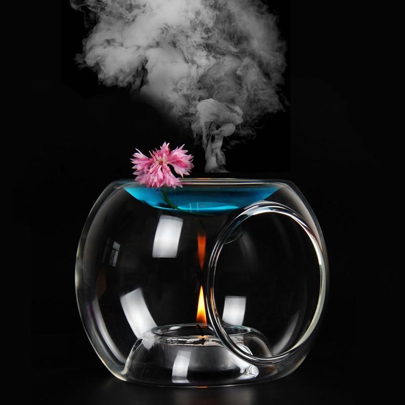 Mini Air Humidifier Essential Oil Diffuser Aorma Lamp