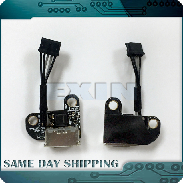 "Brand New 820-2627-A 922-9176 for Macbook 13"" A1342 2009 2010 Audio Board DC-IN Power Jack Cable MC207 MC516"