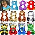Animal Em Forma de U Almofadas Encosto de Cabeça do bebê 1-4 anos Bebês Dos Desenhos Animados Pescoço/segurança/Protector Viagem Brinquedos Presentes Dos Miúdos das crianças Travesseiro