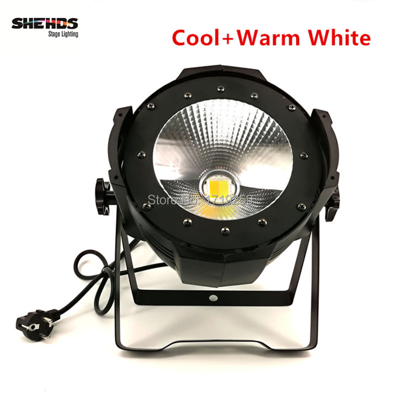 4 pcs/lot 100W COB LED Par Light LED wash light video front lamp performance stage DMX lighting cool white and warm white
