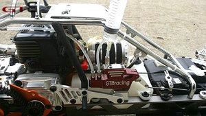 Image 5 - 1/5 rc car gas GTB racing 4 wheel hydraulic disc brake for 1/5 Scale gas baja 5B 5T 5SC GR077 free shipping rc car