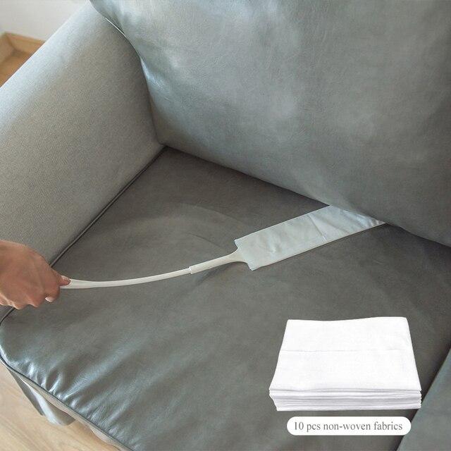 Sofa gap duster Detachable brush for dust Non woven dust brush for sofa bed furniture bottom household dust duster cleaning