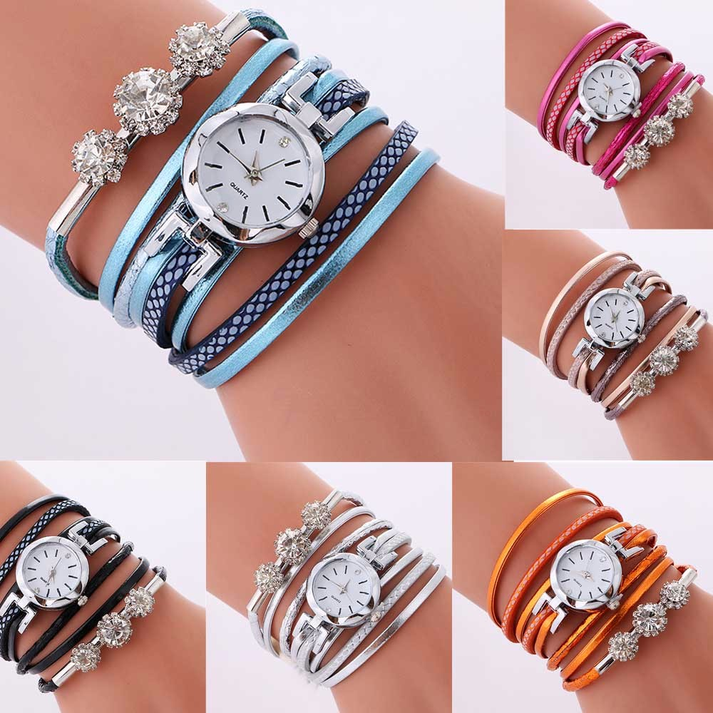 top brand bussiness luxury rhinestone leather bracelet watch women ladies quartz watch casual wrist watches relogio feminino nakzen quartz women watches top brand fashion ladies bracelet watch rhinestone crystal wrist watch female hers relogio feminino