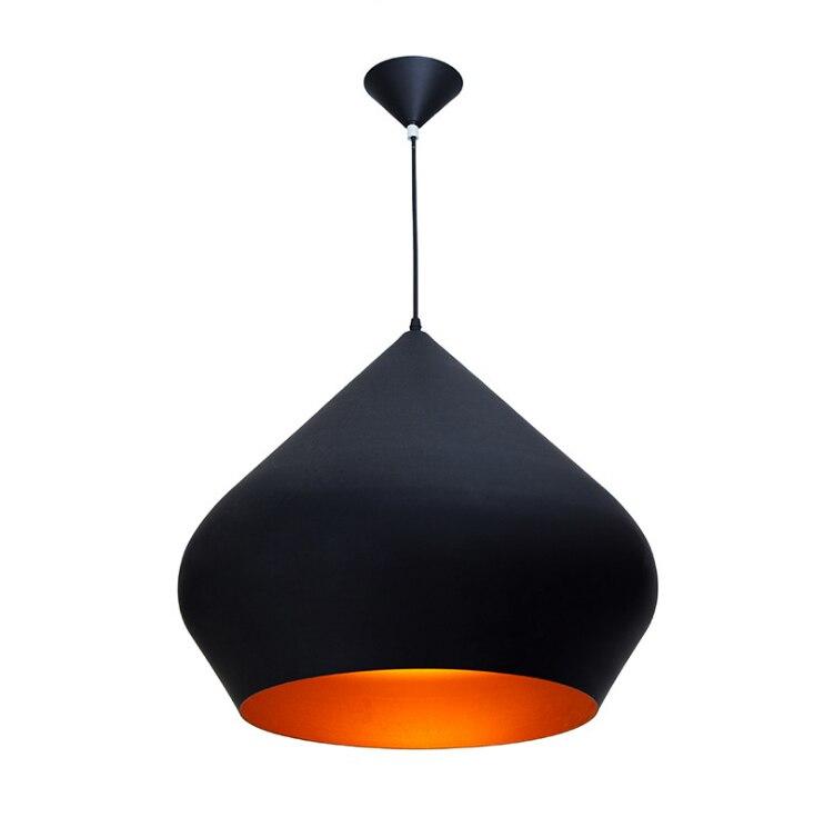 Moderne Stout noir distinctif Spade forme Suspension Suspension Suspension luminaire livraison gratuiteModerne Stout noir distinctif Spade forme Suspension Suspension Suspension luminaire livraison gratuite