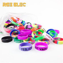 REE ELEC 22mm*7mm Anti-Slip Silicon Rubber Ring Decoration Protection Vape Pen Bands Electronic Cigarette Accessories