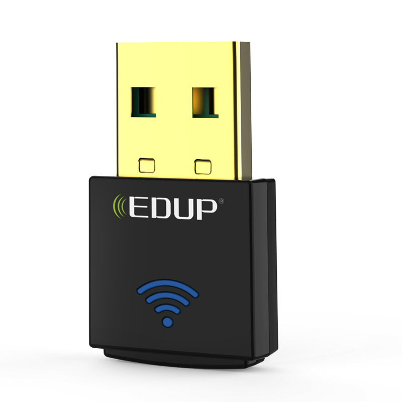 EDUP 600Mbps Mini Wireless USB WiFi Adapter 5Ghz 802.11ac Dual band Wi-Fi Receiver Support Windows Mac