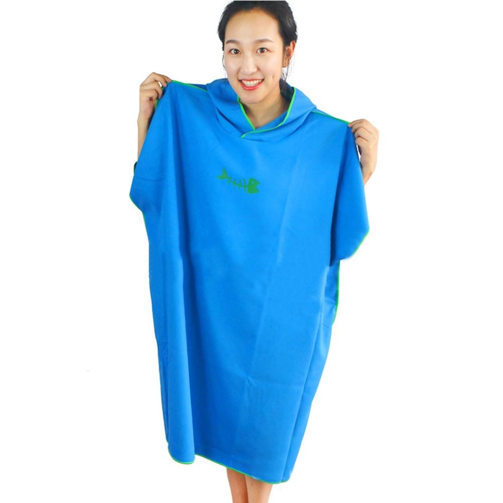 Cartoon Surf Printing Beach Towel Women Man Outdoor Hooded Bathrobe Changing Robe Sport Towel Hot Springs Swimsuit Sport Towels Garden Supplies Power Source