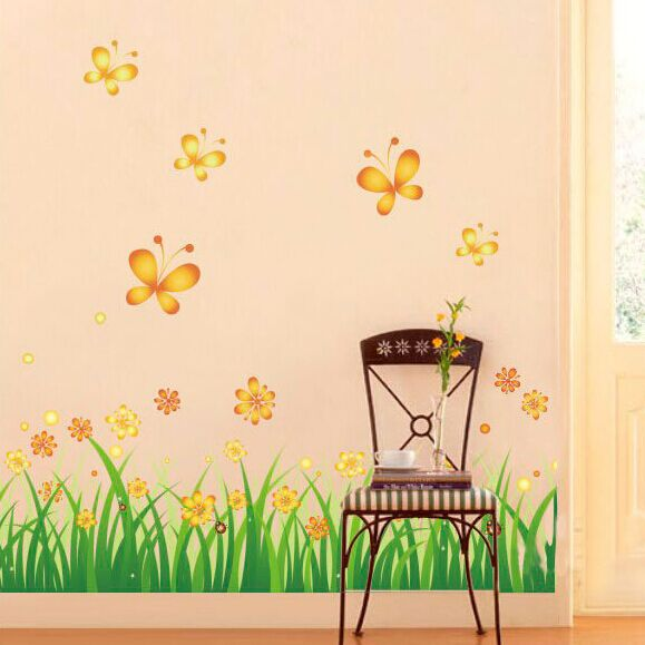 aliexpress : buy high quality romantic green grass butterfly