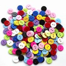 Оптовая продажа оптом 200 шт. смешанные кнопки детская одежда кнопка diy смолы 15 мм записки Кнопф Bouton Ручного Вязания Инструмент
