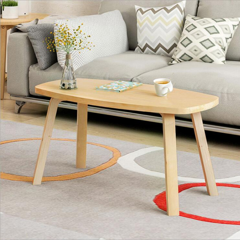 Minimalist Solid Wood Coffee Table mesas de centro para living For Living room Bedroom Home Furniture Side Table tavolo