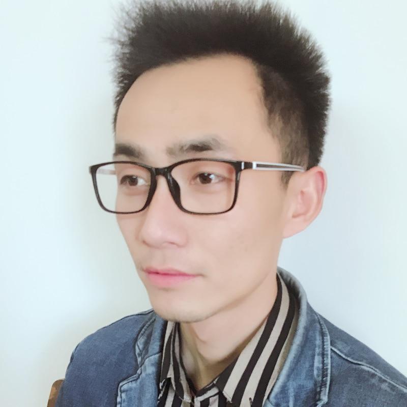 XINZE 2017 Yeni büyük TR90 erkekler gözlük çerçeve reçete - Elbise aksesuarları - Fotoğraf 4