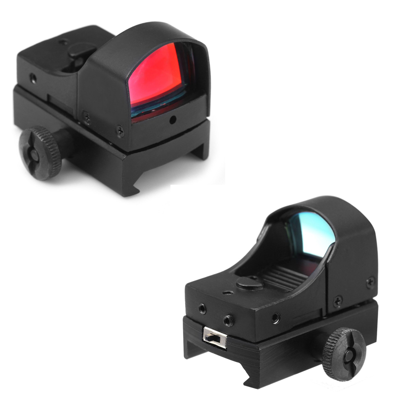 Scope Tactical Mini Holographic Dot Reflex Sight Light Adjustable Brightness