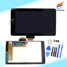Replacement for Asus Google Nexus 7 1st Gen 2012 ME370T LCD Display with Touch Screen Digitizer Assembly one piece free shipping