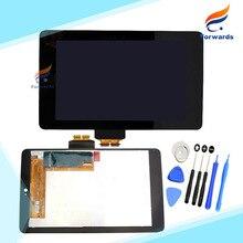 Замена для Asus Google Nexus 7 1st Gen 2012 ME370T ЖК-Дисплей с Сенсорным Экраном Дигитайзер Сборка одна часть бесплатно доставка