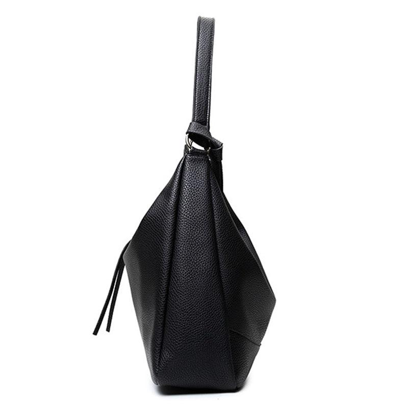 pu leather shoulder sacolas de Exterior : Nenhum