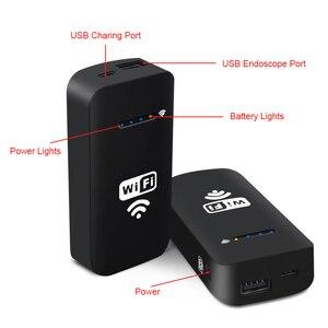 Image 3 - Wireless Wifi Box For Android USB Endoscope Camera Snake Camera2000mah Lithium Battery Support IOS Android PC WiFi Endoscope