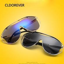 Nuevo 2017 Steampunk Deportes de Gran Tamaño gafas de Sol Zonnebril Colorido Metal Siamés de gafas de Sol Gafas Mujeres Hombres Gafas De Sol Hombre