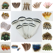 Peacock Jewelry Holiday-Decoration-Accessories Plume Natural 10-500pcs Christmas Beautiful