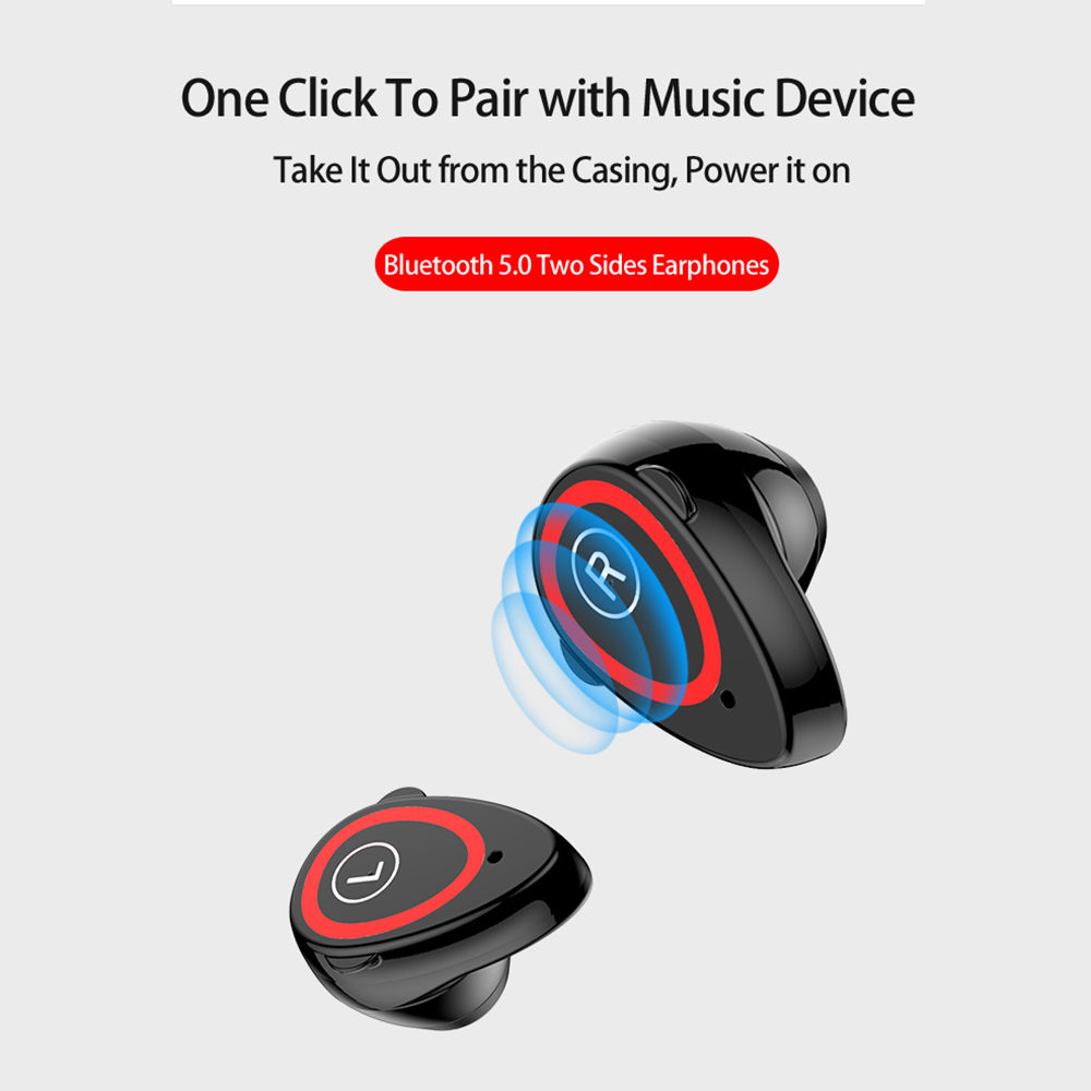 Smart Watch Bluetooth Earphone