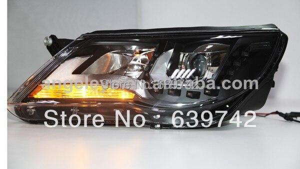 Za VW Tiguan LED prednja svjetla s biksenonskim lećama projektora - Svjetla automobila - Foto 5