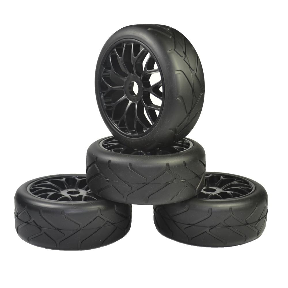 1/8 Buggy (sur route pneus) 17mm (pour kyosho/hobao/HSP/HPI) 4 pcs pneus