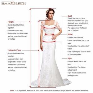 Image 5 - 2020 faszinierende Tüll Scoop Ausschnitt EINE Linie Brautkleider Mit Spitze Appliques Langen Ärmeln Strand Hochzeit Braut Kleid