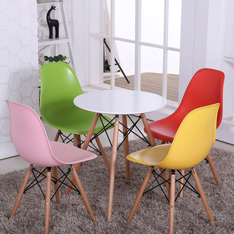 PP Wood Dining Room Sets Modern Desk Minimalist Dining