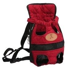 Outdoor Travel Pet Backpack Breathable Pet Backpack Portable Pet Out Bag Summer Travel Waterproof Pet Bag все цены