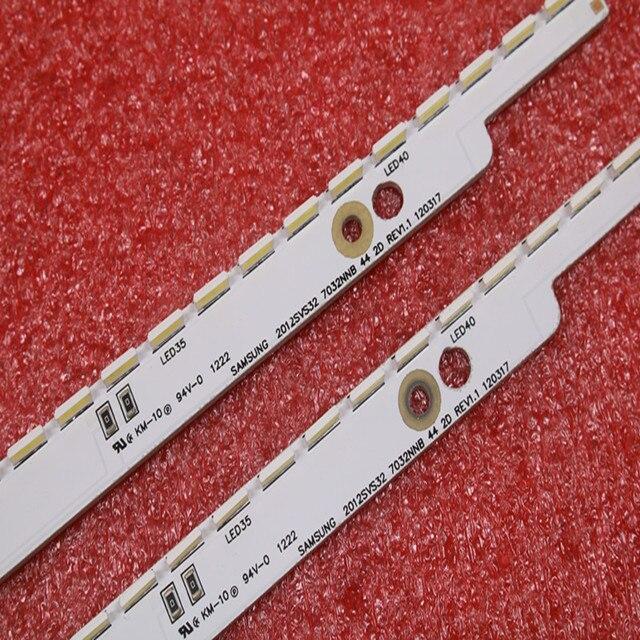 44LED * 3V Novo Tira CONDUZIDA 2012SVS32 7032NNB 44 2D REV1.0 Para Samsung V1GE 320SM0 R1 UA32ES5500 UE32ES6100 UE32ES5530W