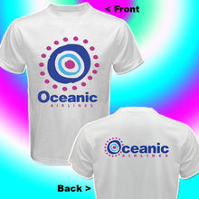 2019 Fashion Double Side New Oceanic Airlines Lost Tv Show T-Shirt Sides Size S - 3Xl Unisex Tee
