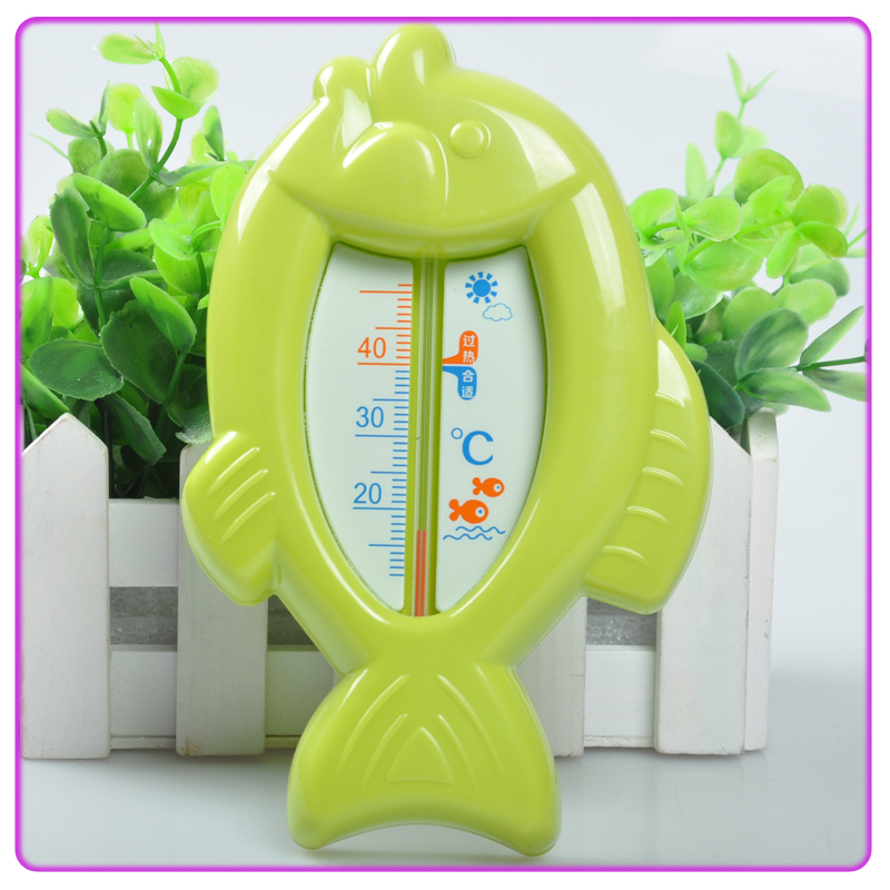 (green)Water temperature gauge, baby baby shower water temperature measuring thermometer children temperature meter, thermometer