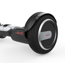 No tax 2016 popular 7inch LUQI I5 scooter safety 2 wheel electric standing scooter for kids and adults with carry bag