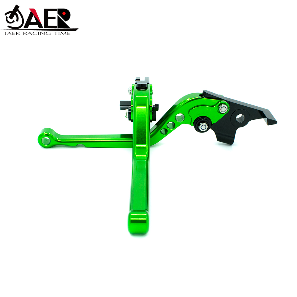 Image 2 - JEAR For Kawasaki Z300 Ninja 300R 2013 2014 2015 2016 2017 2018 CNC Motorcycle  Brakes Clutch Levers Top Quality-in Levers, Ropes & Cables from Automobiles & Motorcycles