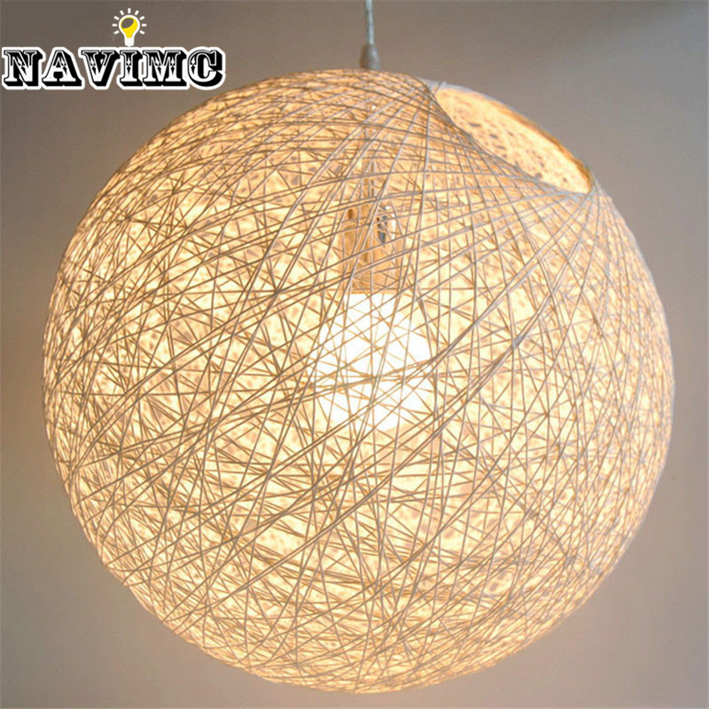 Ma Ball Pendant Light Restaurant Lamp Bedroom Modern Minimalist Balcony Lights MD319 - NAVIMC Official Store store