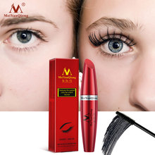New 4D Silk Fiber Lash Mascara Waterproof Rimel 3d Mascara For Eyelash Extension Black Thick Lengthen Eye Lashes Cosmetic ! cosmetic waterproof smooth curling lengthen thick mascara