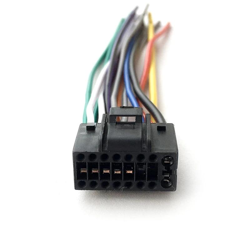 New 16 pin Wire Harness for BOSS Audio BV9364B player 16pin Square Plug| harness|harness wireharness plug - AliExpressAliExpress