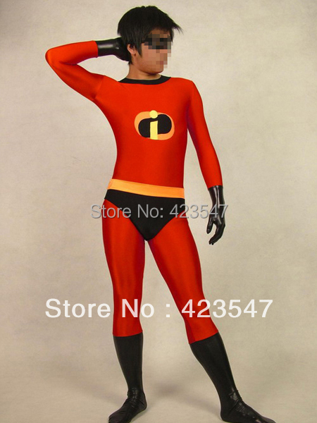 Cosplay The Incredibles clothes all-inclusive tights halloween