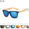 RTBOFY Wood Sunglasses Men Bamboo Sunglass Women Brand Design Sport Goggles Gold Mirror Sun Glasses Shades lunette oculo. RB501