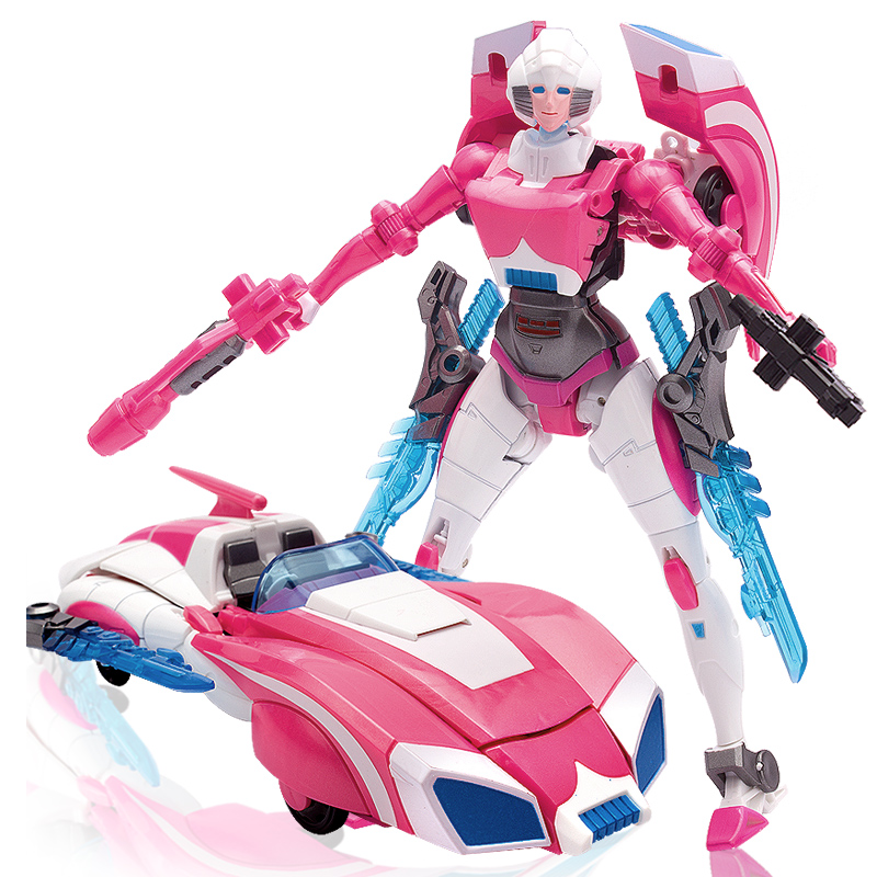 WJ G1 Transformation Arcee Alloy IDW Oversize Enlarge Female MasterPiece Action Figure Robot Collection Toys
